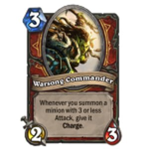 Warsong Commander receives significant nerf; affects Patron Warrior