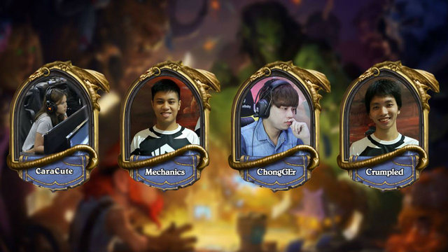 2017 HCT Winter APAC Playoffs: So Close Yet So Far For CaraCute