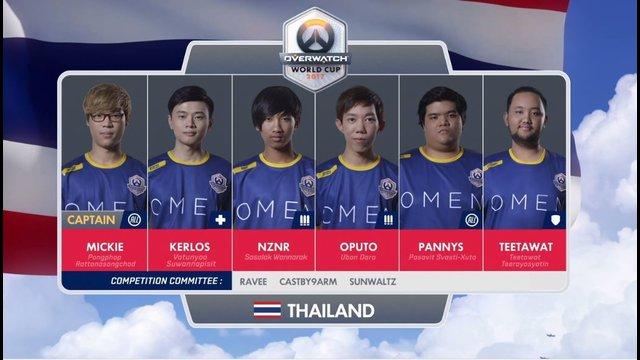 Thai ไม่ถึงฝั่ง BlizzCon 2017 พ่ายจีน