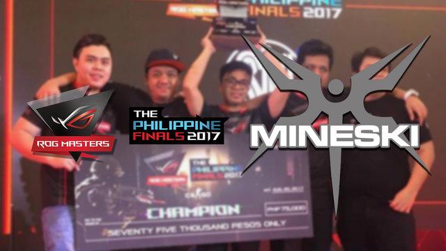 Back-to-Back: Mineski secures second ASUS ROG Masters Philippine Finals title