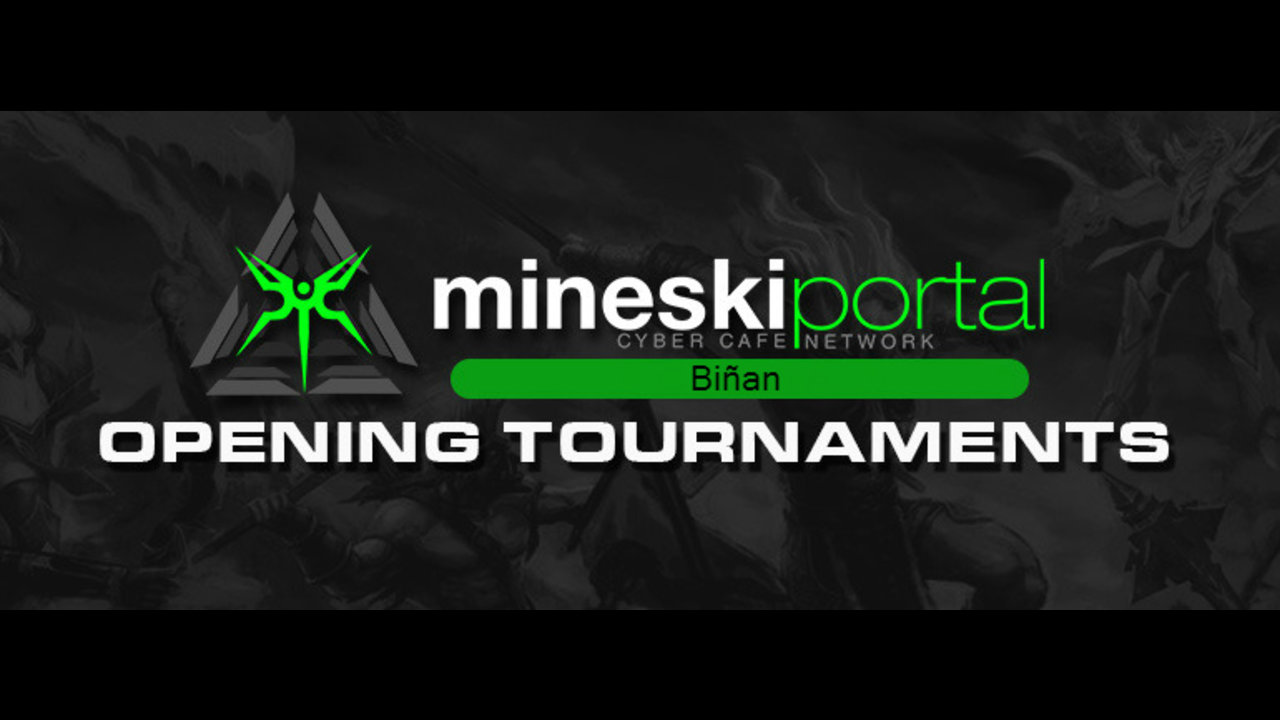 Mineski Portal Biñan Opens with a 48-Hour Non-stop Tournament!