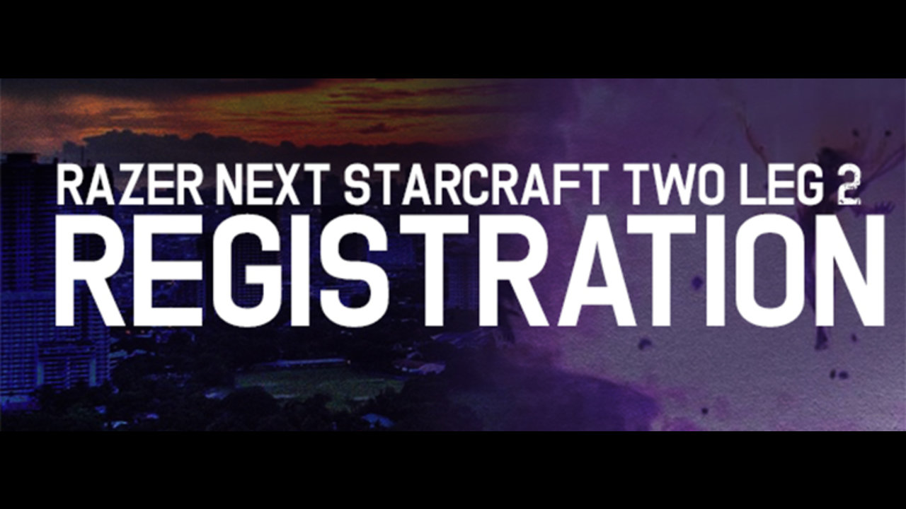 Razer NEXT SCII Division Leg 2 open for registration