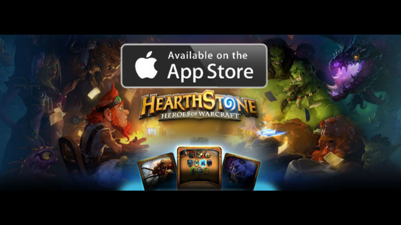 Blizzard releases Hearthstone on iPad Worldwide!