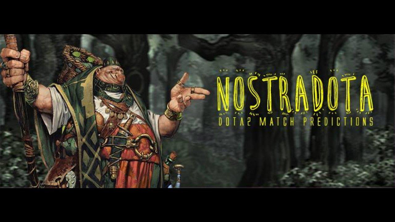 NostraDota: Mineski.net's DOTA 2 Matches Predictions