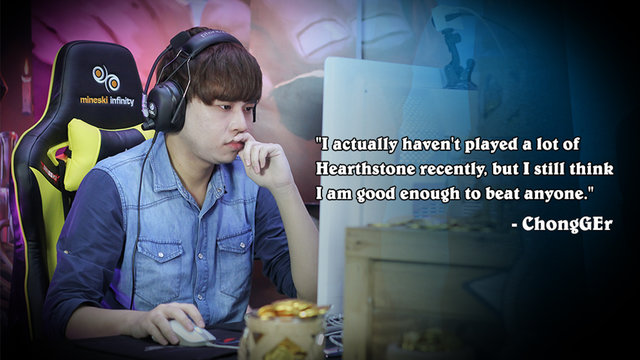 Hearthstone APAC Winter Playoffs: ChongGEr Is Hungry For Gold