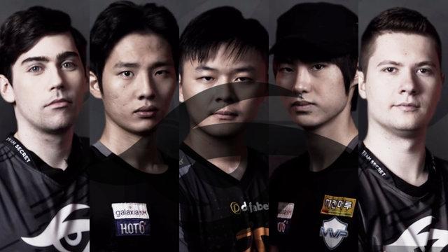 MP, MidOne, Forev join Team Secret