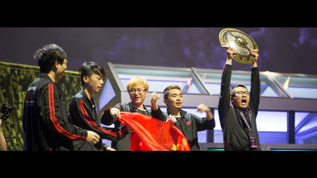 NewBee defeats Vici Gaming to Claim the Aegis of Champions