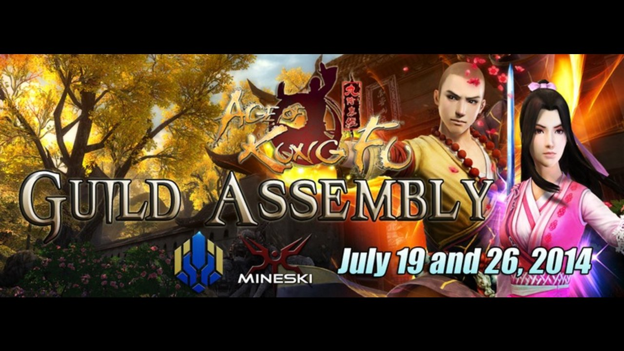 Age of Kung Fu Guild Assembly going to MI Dasma on July 26