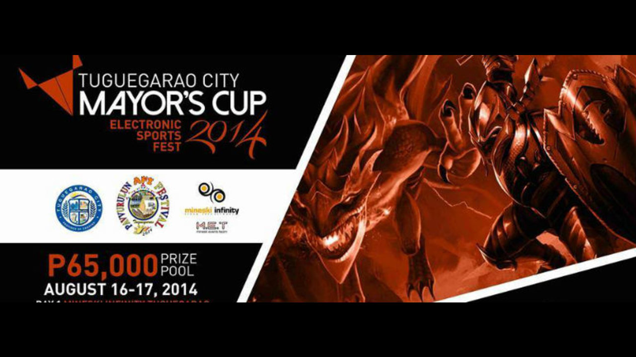 Tuguegarao's City Government support eSports with Mayor's Cup!