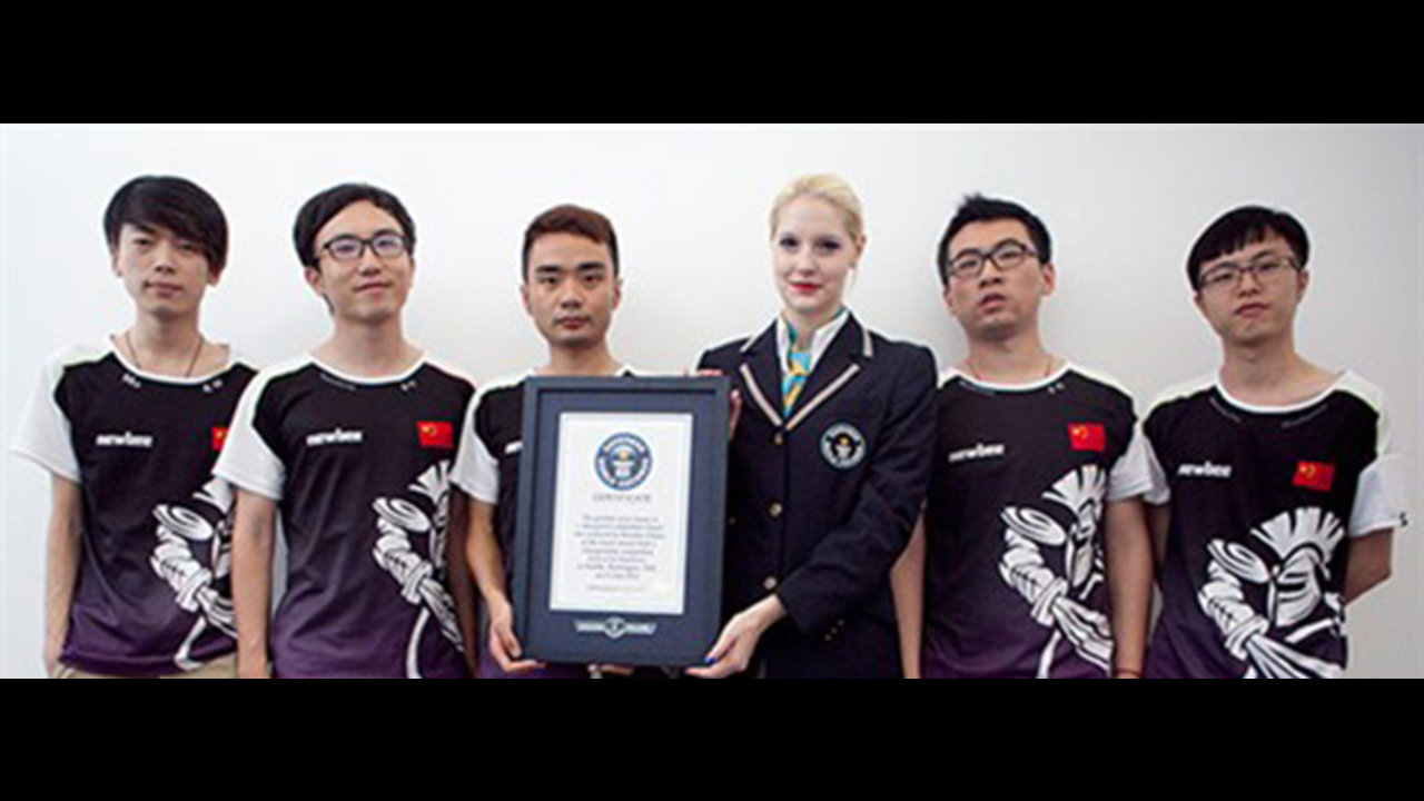 NewBee sets a Guinness World Record!