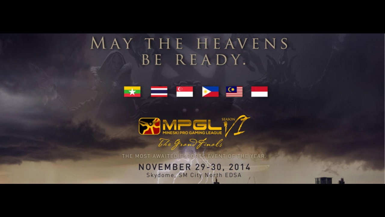 May the heavens be ready! MPGL SEA Grand Finals announced!