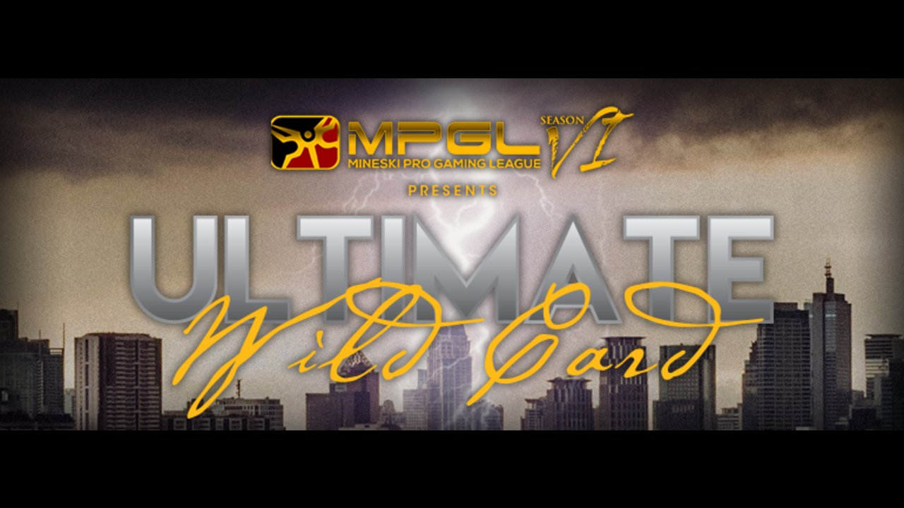 MPGL SEA Ultimate Wildcard, an open bracket tournament