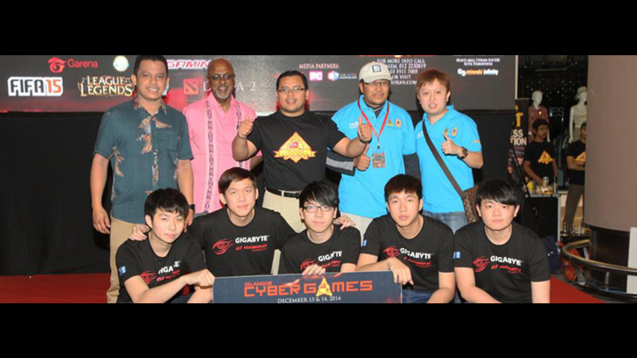 Mineski wins G1 Gaming at Selangor Cyber Games