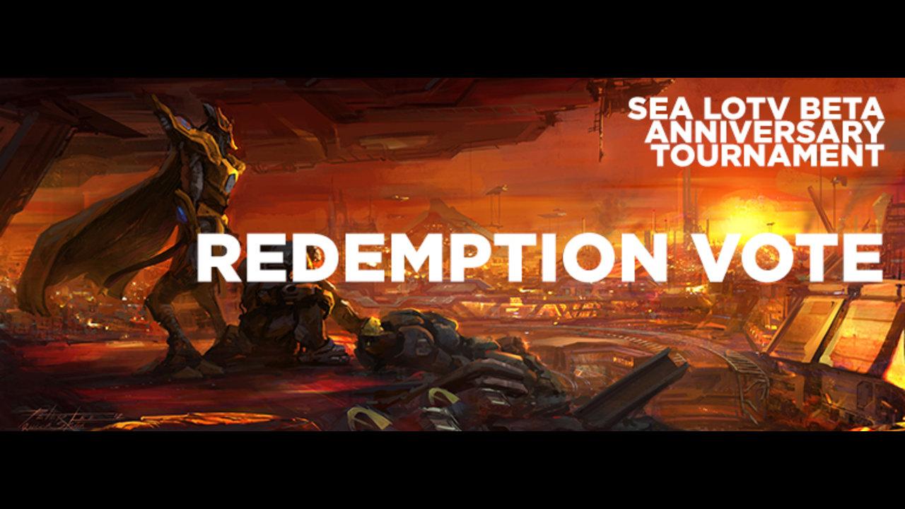 SEA LOTV Beta Anniversary Tournament opens Redemption Vote