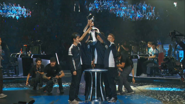 Team SoloMid Are Now 4-time NA LCS Champions