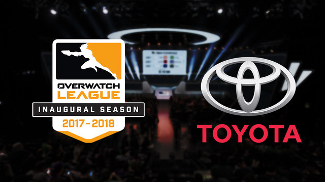 Overwatch League Announces Partnership with Toyota