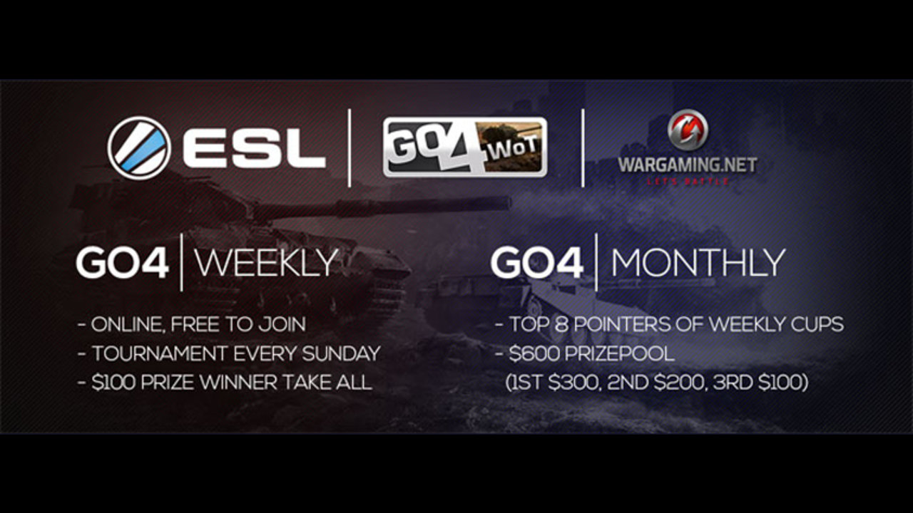 ESL partner with Wargaming to bring Go4World of Tanks to Asia