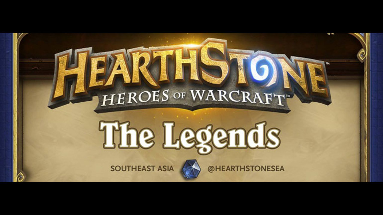 Hearthstone SEA Legends 7 this Sunday at ESL Play
