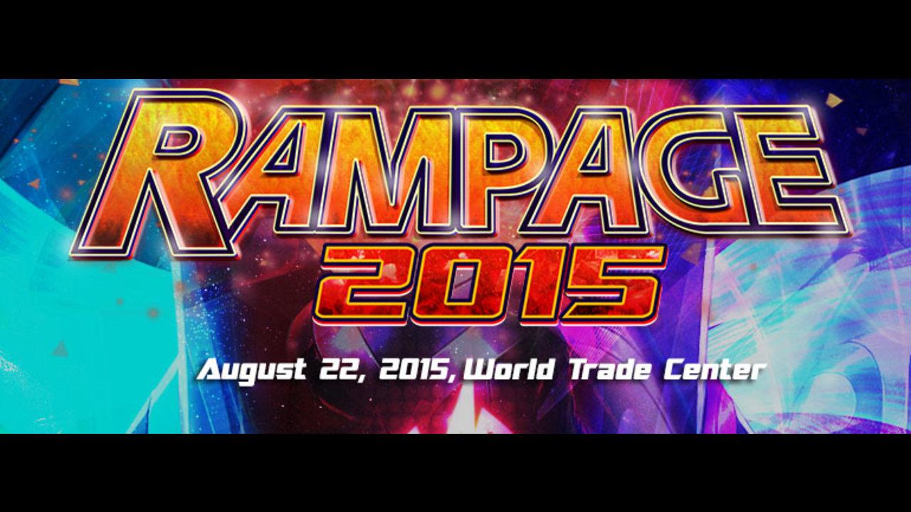 Garena announces Rampage 2015