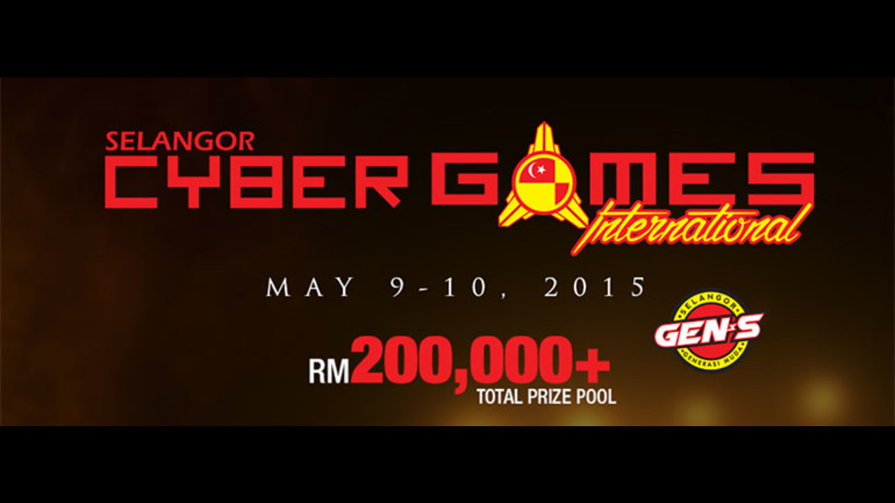 Selangor Cyber Games feat. MPGL SEA, ACG, Dot Arena with RM 200k pool