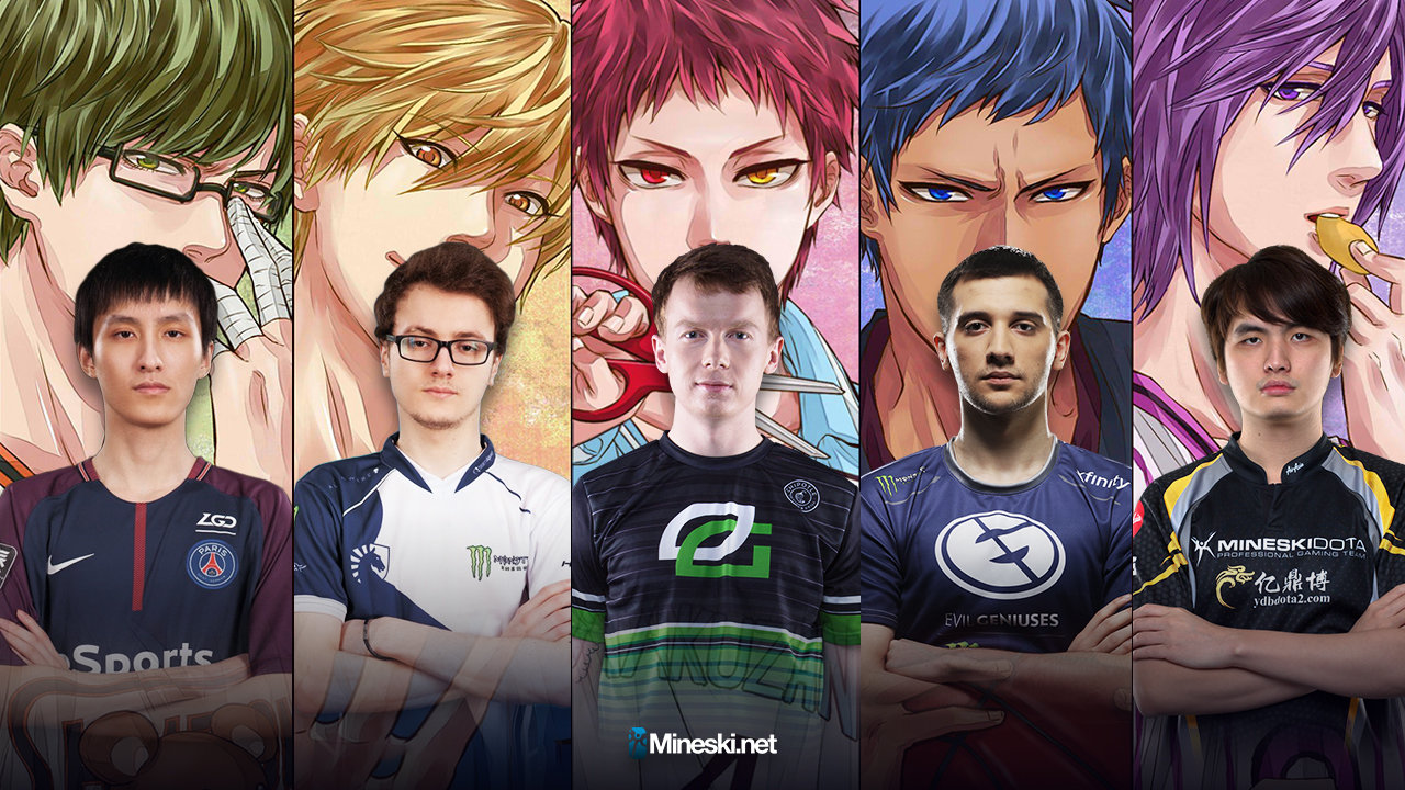 Dota  Players And Their Kurokos Basketball Character Counterpart Mineski Net