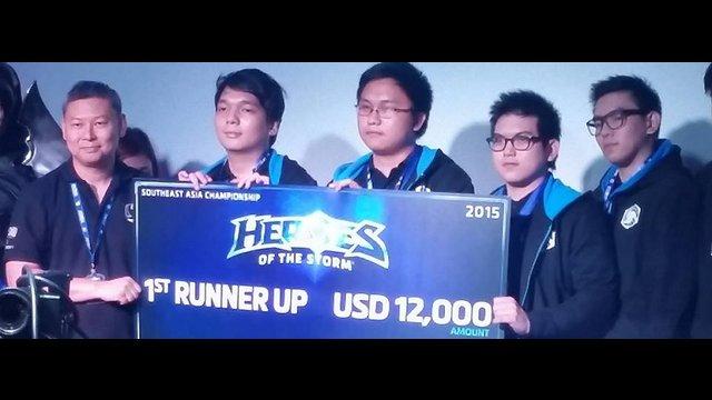 PH team Bibingka bags 2nd place, P550,000 in HotS SEA Championship