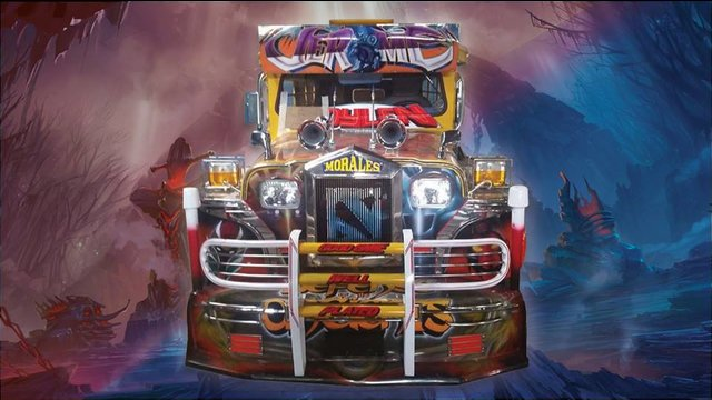 Dota 2 Jeepney Spotted In The Philippines