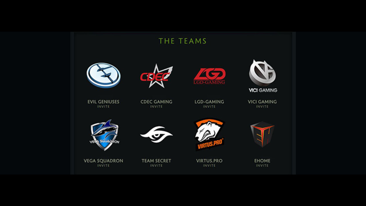 Check out who's playing in the Frankfurt Major