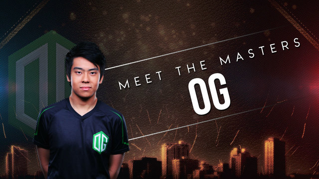 Meet the Masters: OG