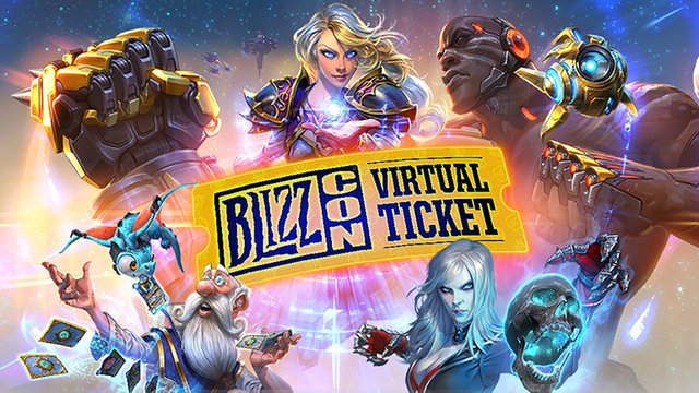 Experience BlizzCon With the Evolved Virtual Ticket