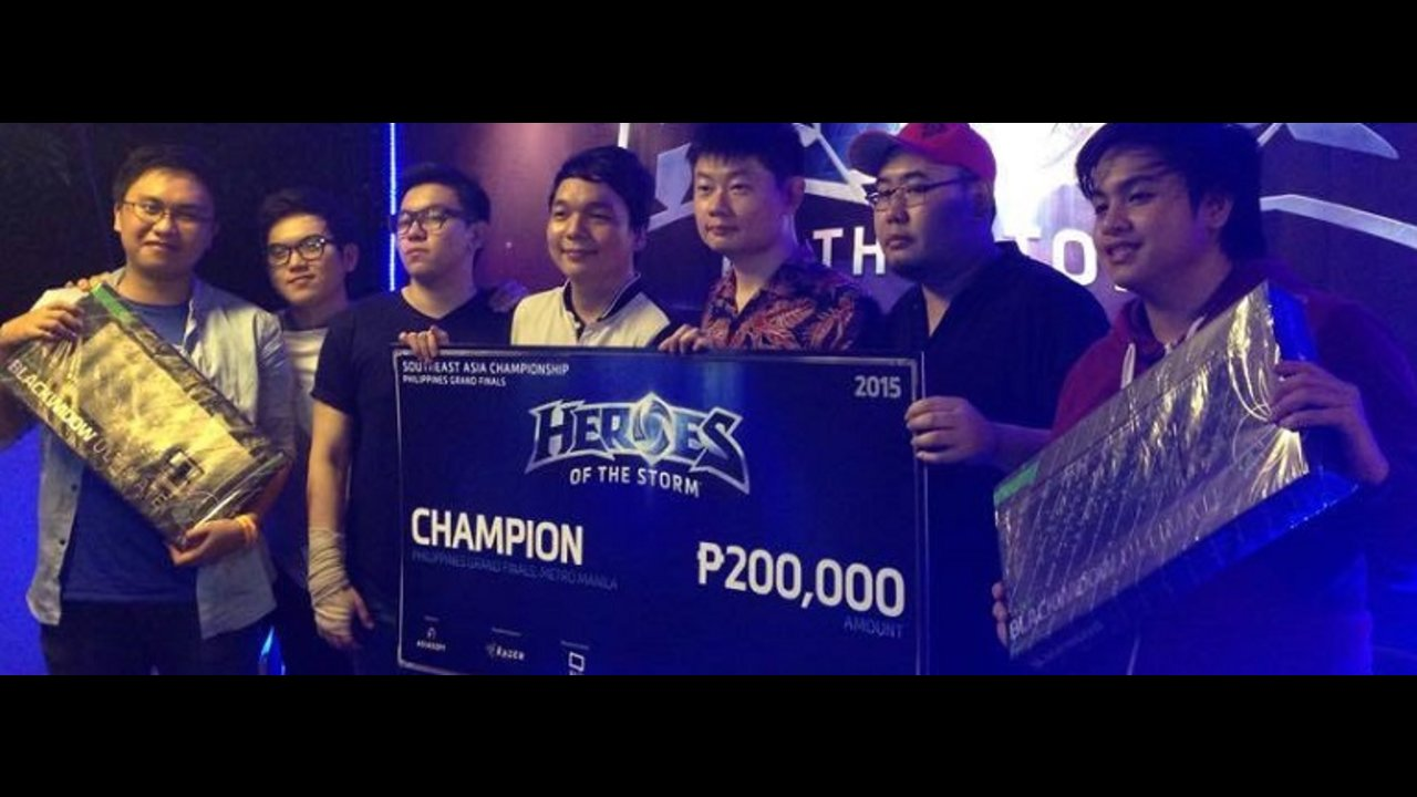 Team Bibingka crowned national champion in Philippine 'Road to Blizzcon' finals
