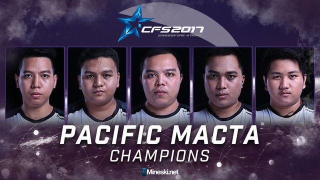 Pacific.Macta Is Once Again The CrossFire Stars 2017 Philippine Champion