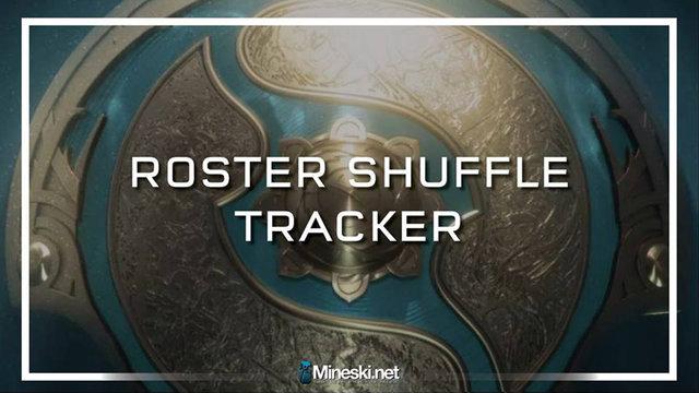 Dota 2 Roster Shuffle Tracker