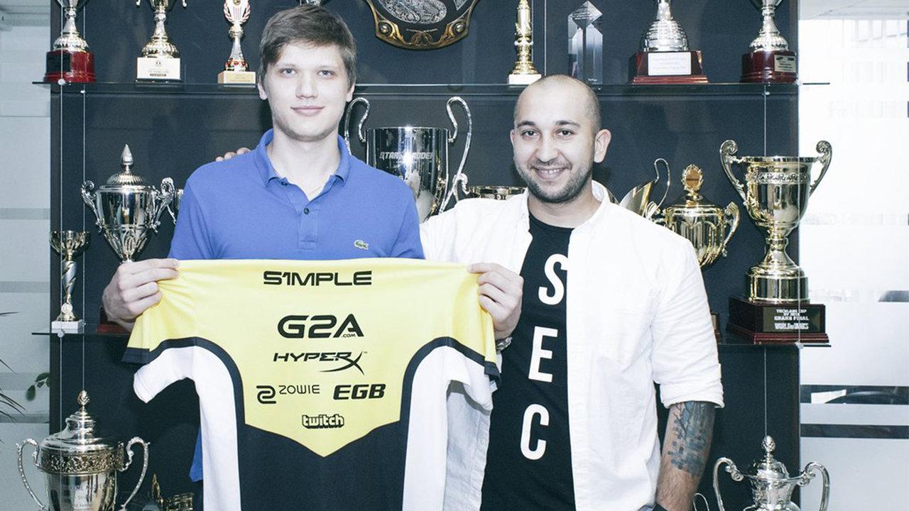Natus Vincere signs Oleksandr