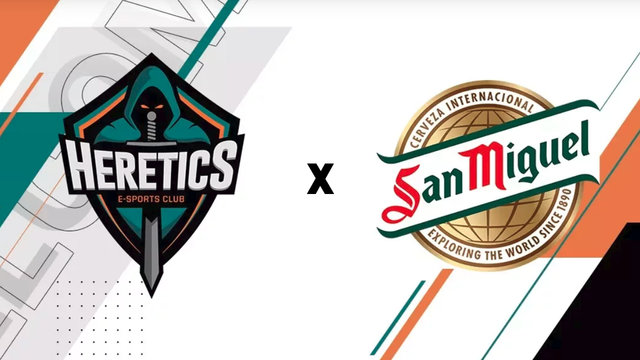 San Miguel Sponsors Spanish Esports Organization Team Heretics
