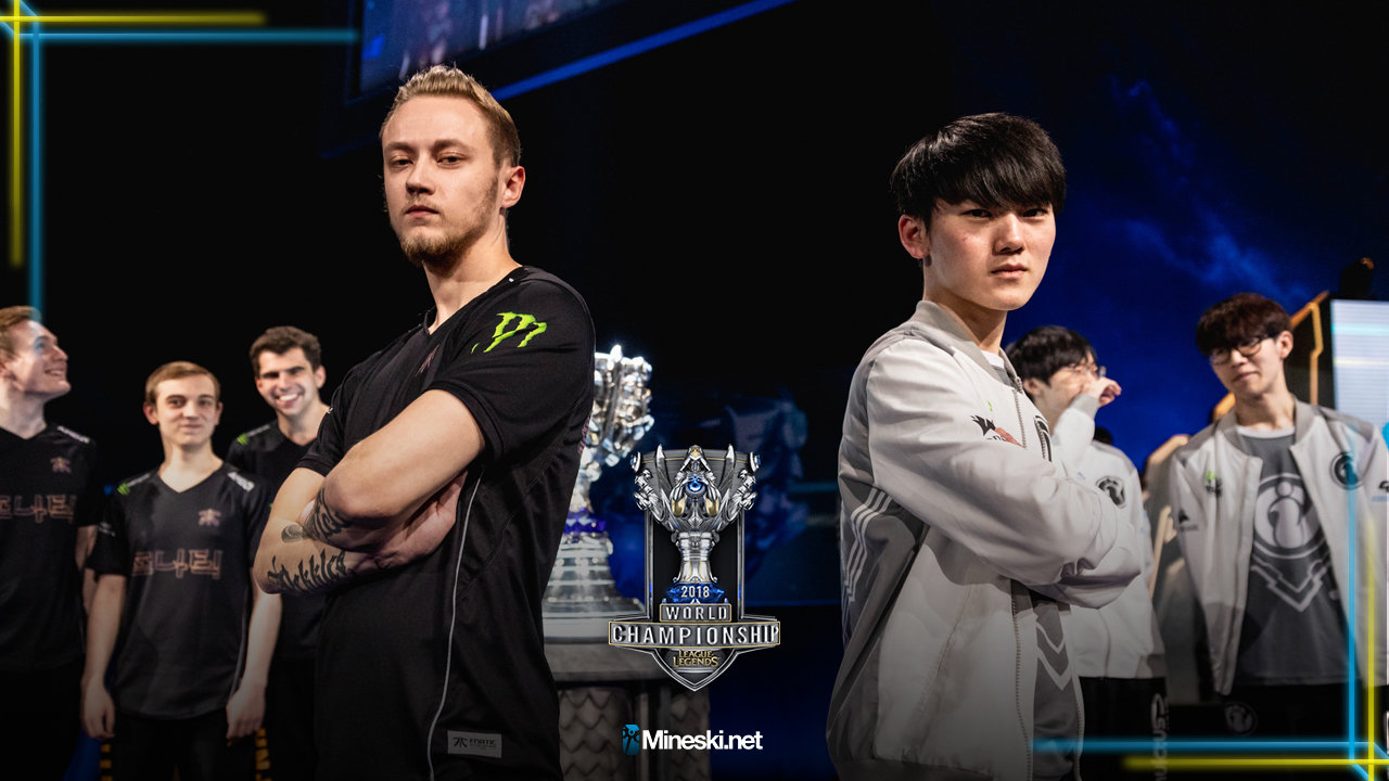 Fnatic And Invictus Gaming To Clash In Worlds 2018 Final At Incheon