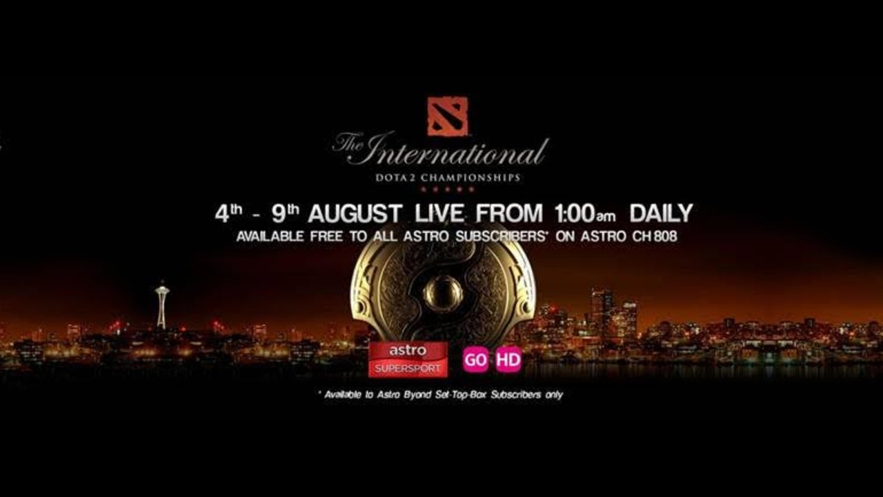 Astro offers DOTA 2 Championships 2015 LIVE