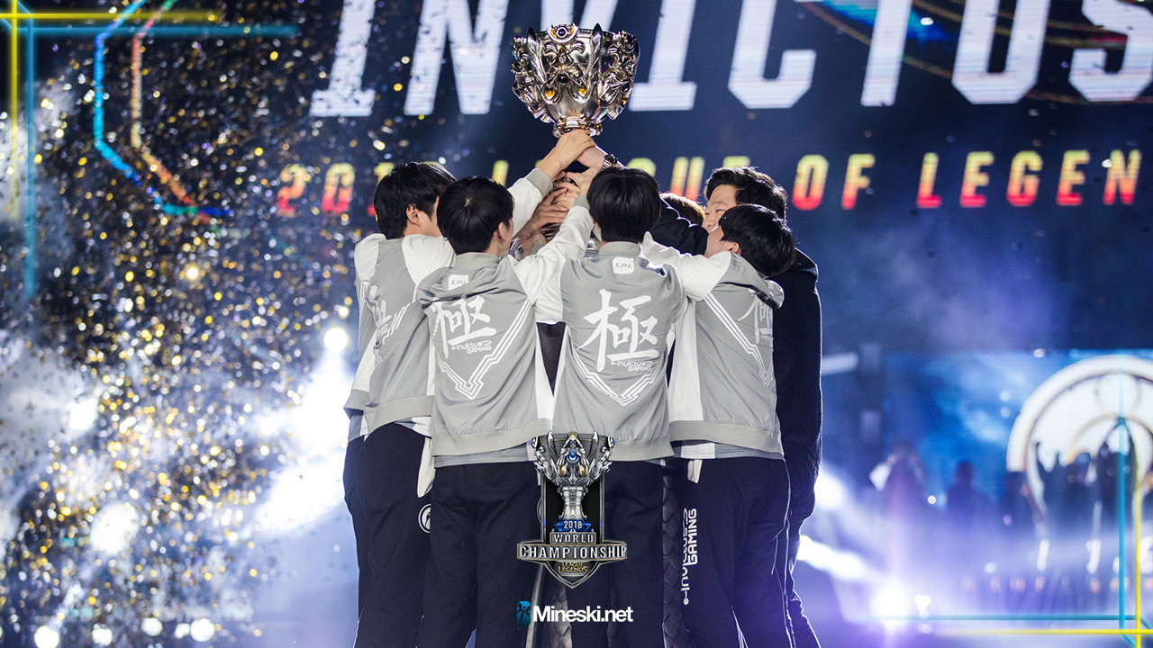 China Wins First Ever League Of Legends World Championship