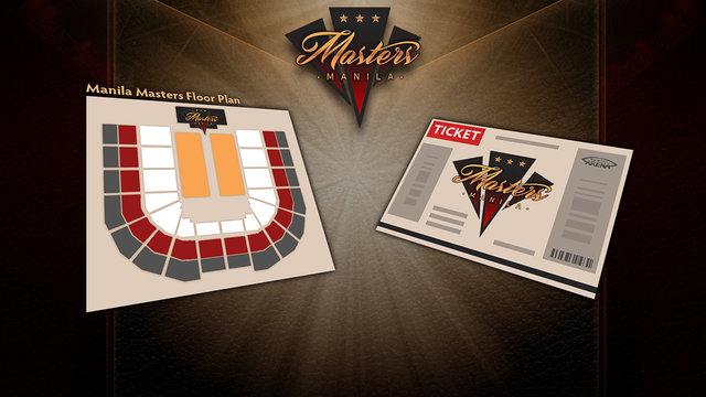 Manila Masters Ticketing Details Revealed