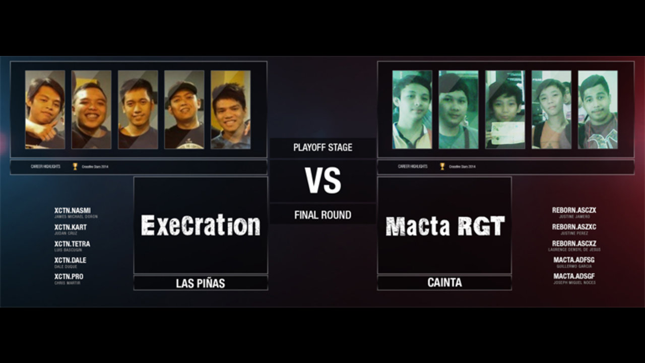 Xctn-FPS, Macta RGT to settle CF Rivals S2 championship this Saturday