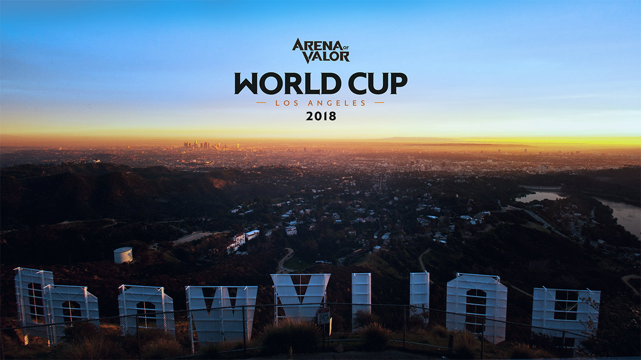 Garena's Arena of Valor 2018 World Cup to L A  this July