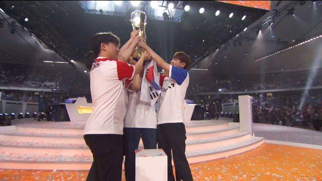 South Korea คว้าแชมป์ โลกปีที่ 2