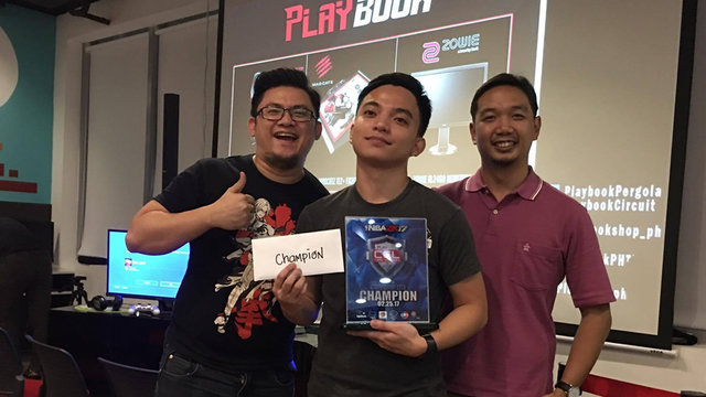 PBE.Philippe Clutches 1-Point 1-Second Win Against PAD.Lubert For PlayBook's NBA2K17 Sapphire Leg
