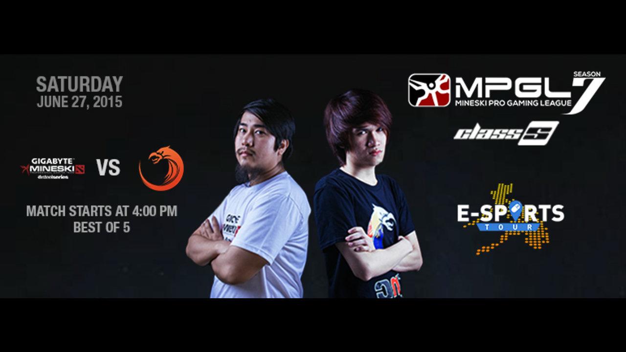 Mineski-Dota and TNC to clash this Saturday for MPGL7 Dota 2 title