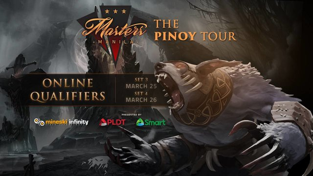 Manila Masters Pinoy Tour: Online Qualifiers 3 & 4 Information Page