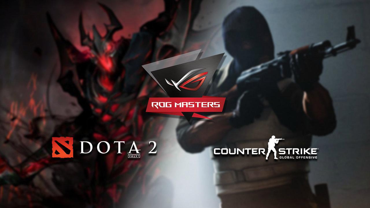 ASUS ROG Masters APAC - Dota 2 and CS:GO