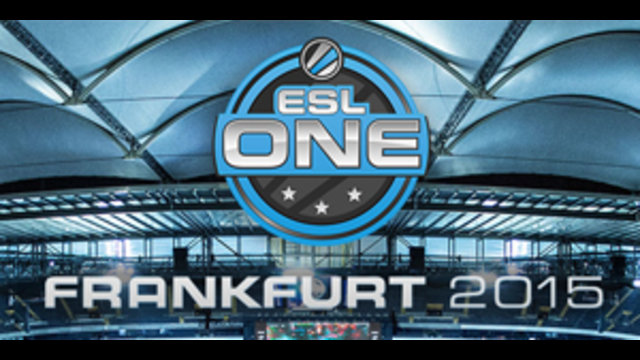 ESL ONE 2015 Frankfurt Asia qualifier