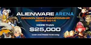 Alienware Arena Dragon Nest Championship Series 2014