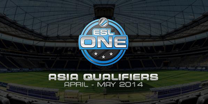 ESL One Frankfurt 2014 Asia Qualifiers